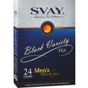 Svay Black Variety Men's (24 пирамидки)