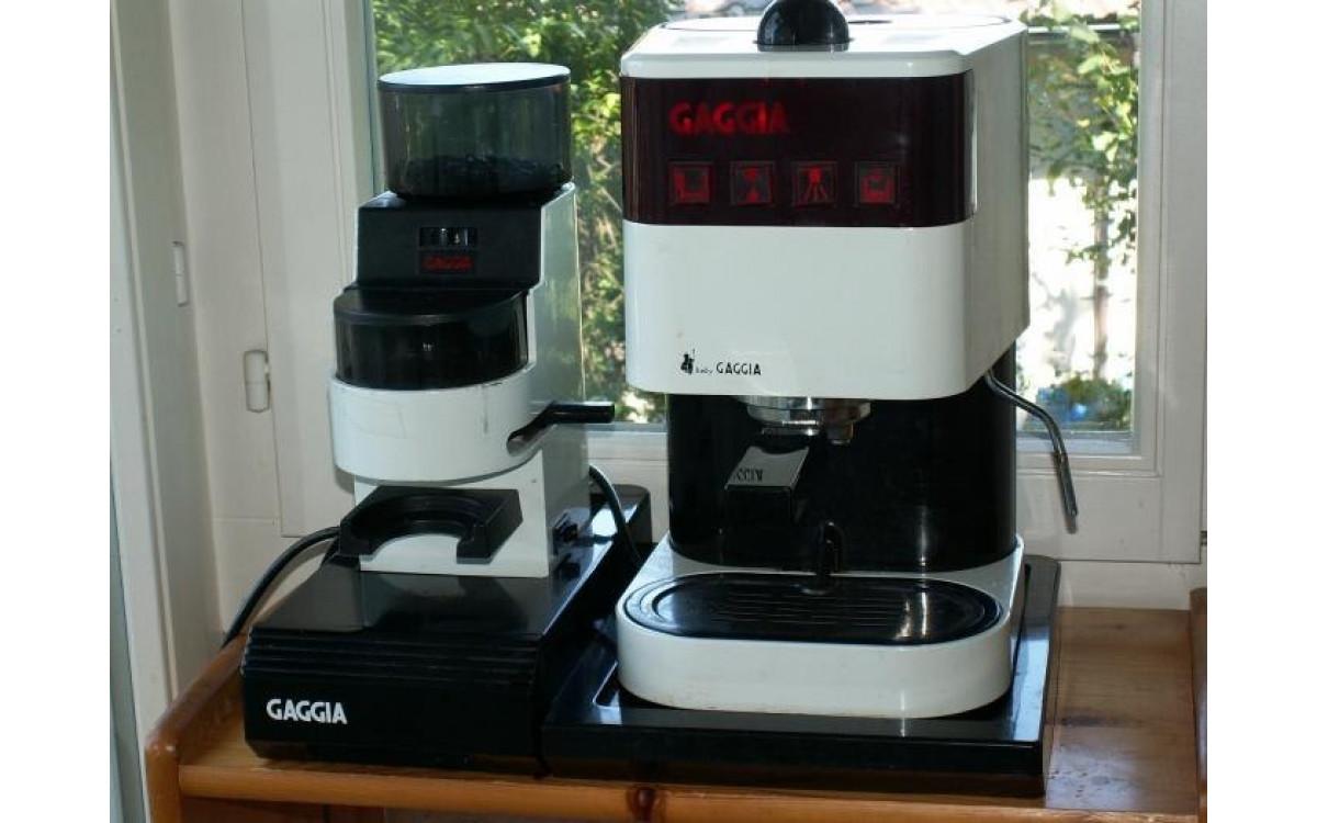 Первые бытовые кофемашины Gaggia
