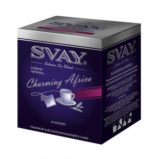 Svay Charming Africa ройбуш с черникой чай травяной
