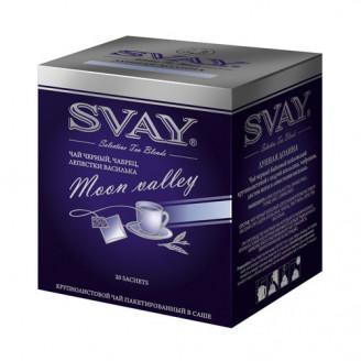 Svay Moon Valley черный с чабрецом и лепестками василька чай
